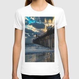 South Side Oceanside Pier ~10-2015 T-shirt