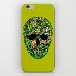 Skull Nature iPhone Skin