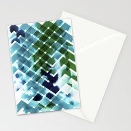 River in deciduous wood Stationery Cards
