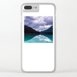 Undo this storm and wait Clear iPhone Case