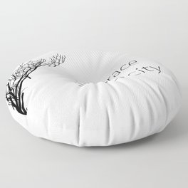Embrace Simplicity Floor Pillow
