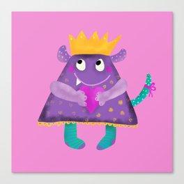 Monster Elsa for kids room Canvas Print