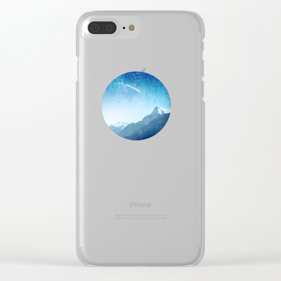 A Brilliant Star Clear iPhone Case