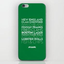 Boston — Delicious City Prints iPhone Skin