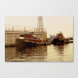 Tugs: Fells Point Canvas Print