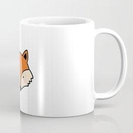 Simple red fox Coffee Mug