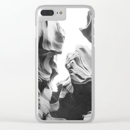 ANTELOPE CANYON XXVIII Clear iPhone Case