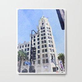 6777 Hollywood Blvd  Metal Print