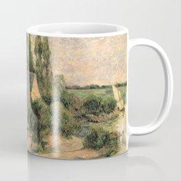 """Paul Gauguin - Washerwomen at Pont-Aven """"Les Lavandières à Pont-Aven"""" (1886) Coffee Mug"""