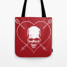 Eros & Thanatos (Joli Rouge Red Flag) Tote Bag