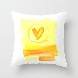 Prairie Love Throw Pillow