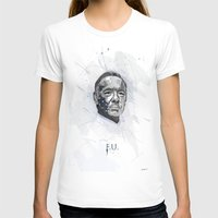 house of cards T-shirts featuring House of Cards - Frank Underwood by teokon