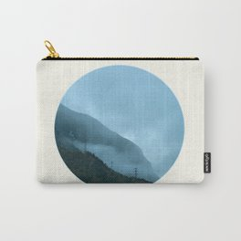 Blue Misty Mountains Carry-All Pouch
