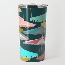 Beach Umbrellas Travel Mug