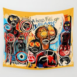 Head full of dreams Wall Tapestry