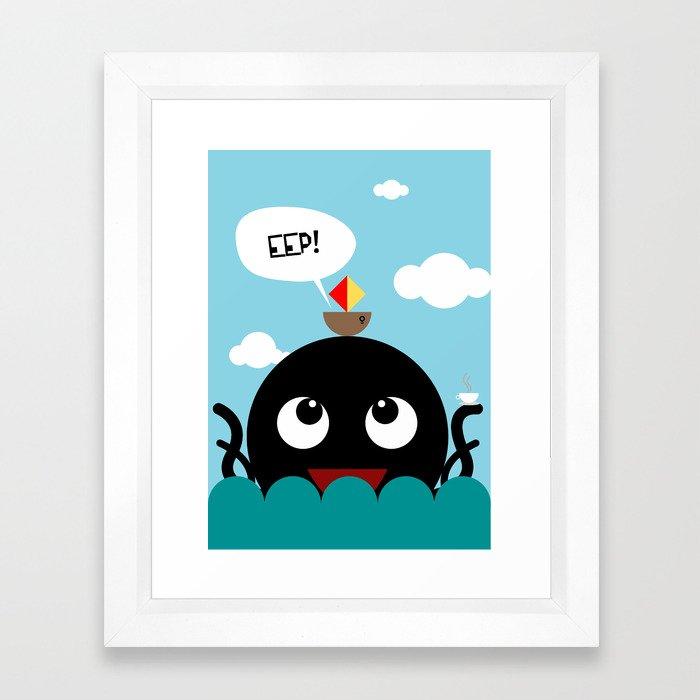 Tea, anyone? Framed Art Print