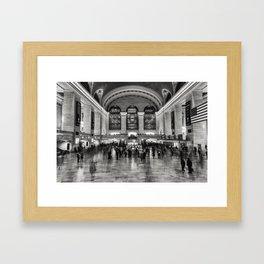 Grand Central Framed Art Print