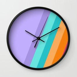 Pastel 02 Wall Clock