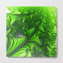 Jungle fractal Metal Print