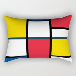 Bauhaus Abstract Pattern 06 Rectangular Pillow