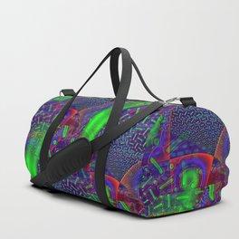 Disco Tech Psychedelic Duffle Bag