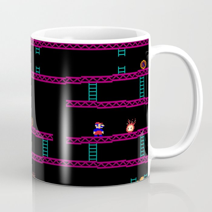Donkey Kong Retro Arcade Gaming Design Coffee Mug