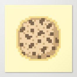 Pixel Cookie Canvas Print