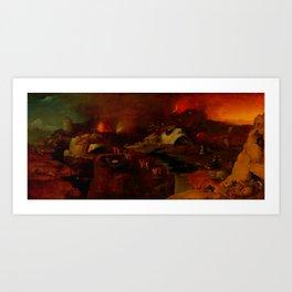 """Hieronymus Bosch (follower) """"Christ's Descent into Hell"""" Art Print"""