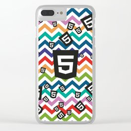 HTML5 WEBSITE DEVELOPMENT CODING PATTERN Clear iPhone Case