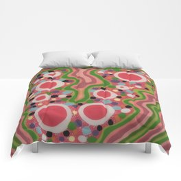 Untitled, pink Comforters