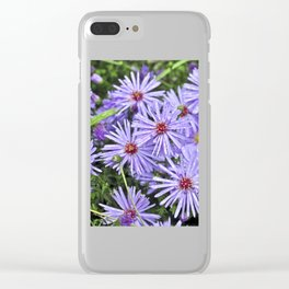 Blossoms of Autumn Clear iPhone Case