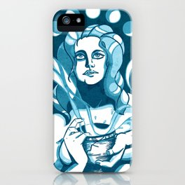 Zodiac Aquarius iPhone Case