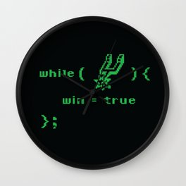 while(spurs) Wall Clock