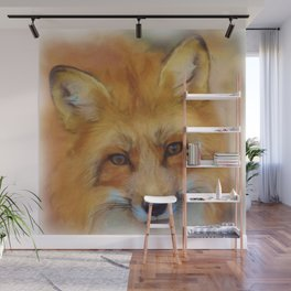 Painting Oil Painting Photo Painting Fuchs Red Fox Wall Mural