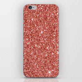 Sparkling Glitter Print B iPhone Skin