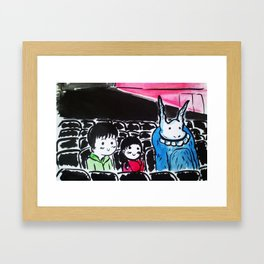 Donnie Darko - At the Cinema  Framed Art Print