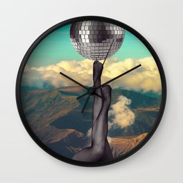 getting hot Wall Clock
