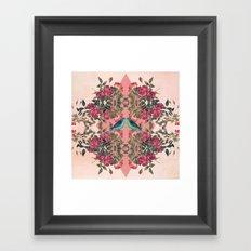 Love Birds II (pink edition) Framed Art Print