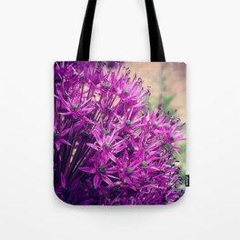 Purple Allium Tote Bag