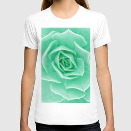 Minty succulent T-shirt