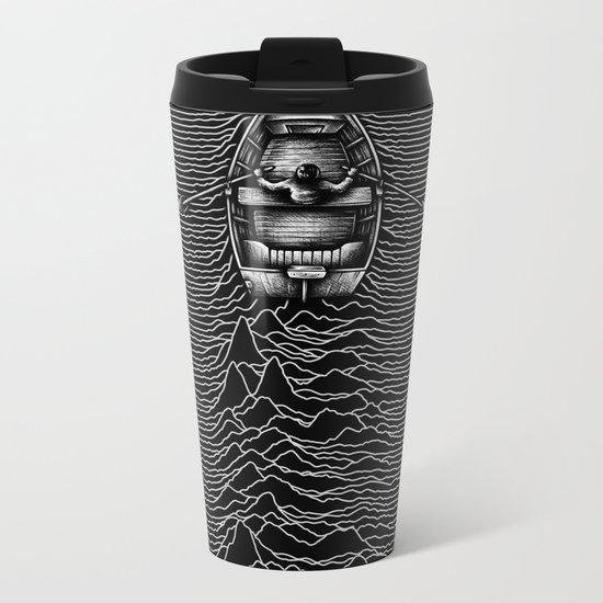 Unknown Waters Metal Travel Mug