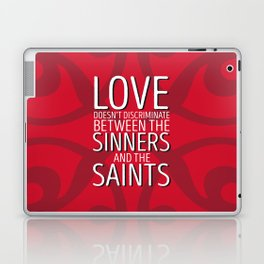 Love Doesn't Discriminate Laptop & iPad Skin