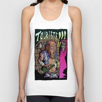 last of us Tank Tops featuring Last of us - tourists!!! by jason st paul