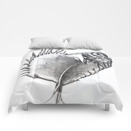 Venus Fly Trap Comforters
