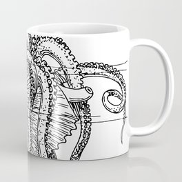 Mollusc | Vintage sketch | Ocean Creature | Ocean Decor Coffee Mug