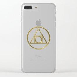 Alchemical symbol Clear iPhone Case