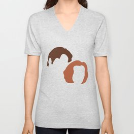 Mulder and Scully, X-Files Unisex V-Neck