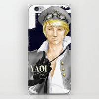 yaoi iPhone & iPod Skins featuring Yaoi by Noemí duVallon