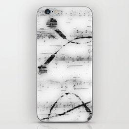 Music, music, music iPhone Skin