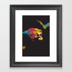 Nice to Meet You Framed Art Print